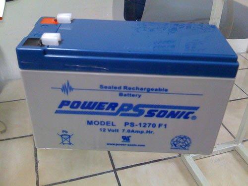 Esta es nuestra bateria de reemplazo otra 1270 pero marca Power Sonic