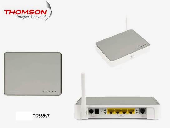 Modem ADSL TG585v7 de Infinitum