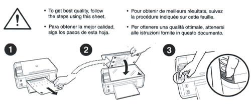 Arreglar impresora PSC 1510 para que deje de imprimir paginas de prueba al encender
