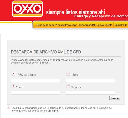 Como hacer la facturación electronica de Oxxo