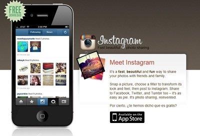 Vender fotos de Instagram