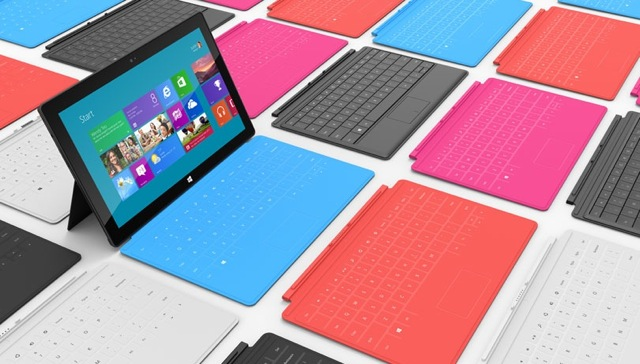 Touch Cover y Type Cover para Windows Surface