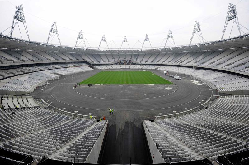 El Estadio Olímpico por dentro
