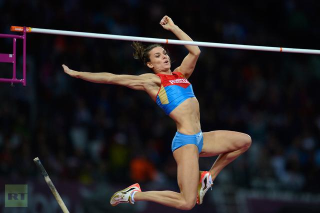 Isinbayeva se despide del olimpismo
