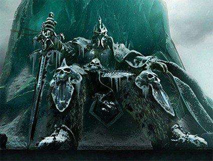 El rey oscuro de World of Warcraft