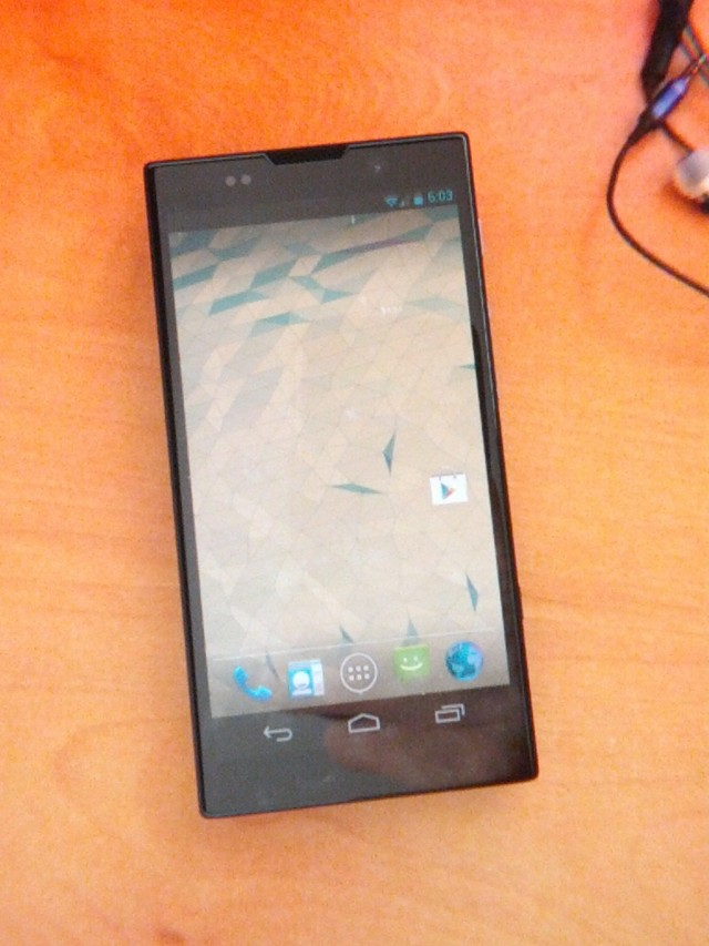 Google Nexus de Sony
