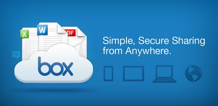 Box también está disponible para iOS y Android