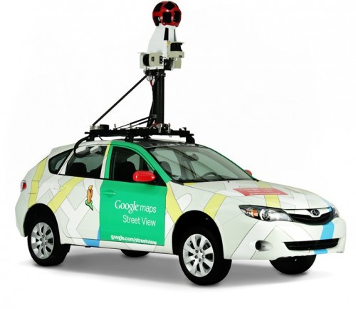 Automovil de Street View