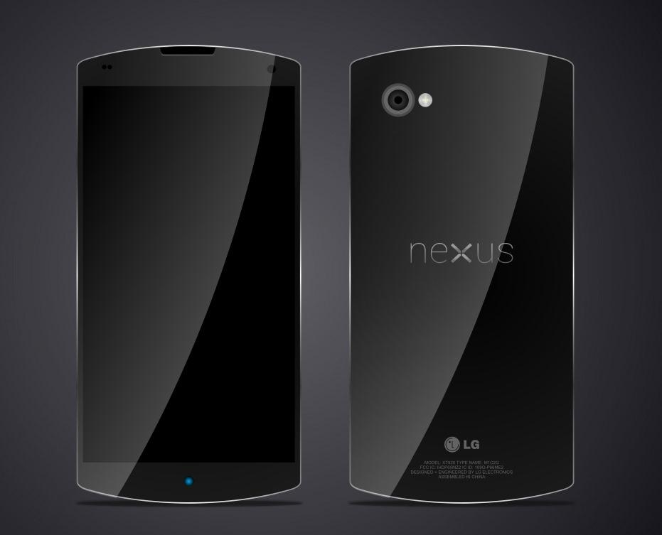 Diseño conceptual del Nexus 5