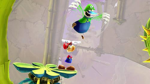 Trajes de Mario y Luigi en Rayman Legeds