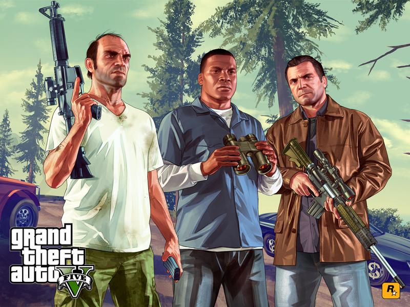 Trevor, Franklin y Michael