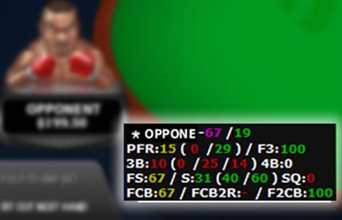El HUD en los juegos de Poker Online