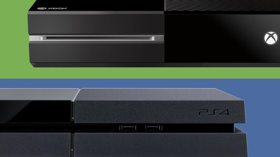 Diseños de la Xbox One y PS4