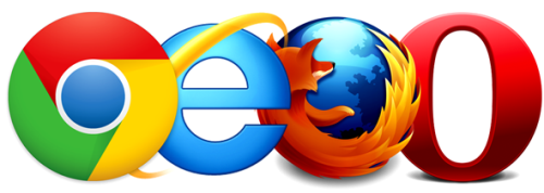 Firefox IE Opera Chrome 1