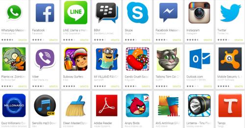 Lista de 100 Apps Para Android