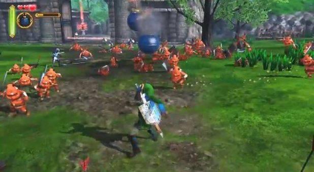 Hyrule Warriors, Legend of Zelda hack n slash 1