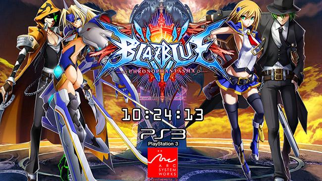 BlazBlue Chrono Phantasma PS3 1