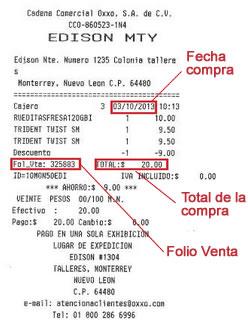 Como hacer y reimprimir facturas electrónicas de Oxxo por Internet.