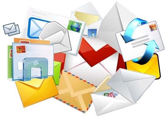 Servicios de correo electrónico