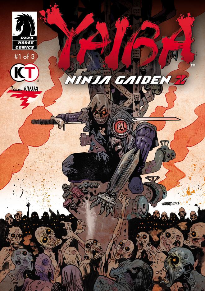 Portada de Yaiba: Ninja Gaiden Z, parte uno
