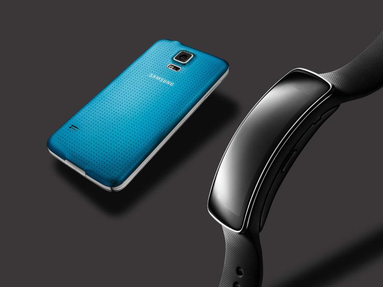 Gear Fit compatible con el Galaxy S5