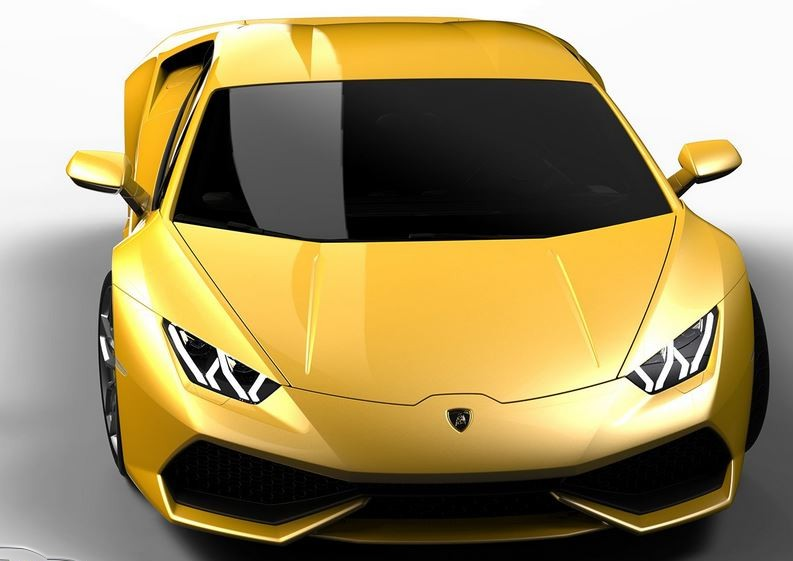 Lamborghini Huracán Amarillo