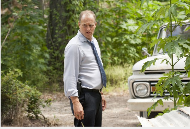 Woody Harrelson como el detective Marty Hart