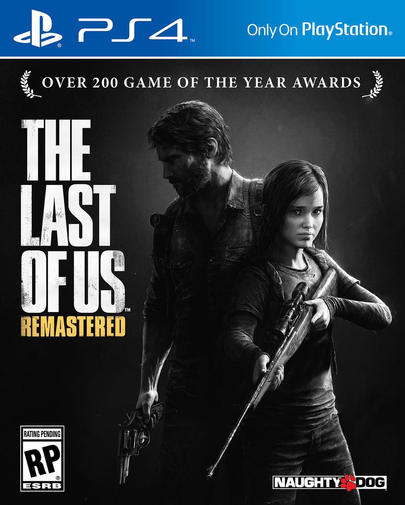 Portada oficial de The Last of Us Remastered para PS4