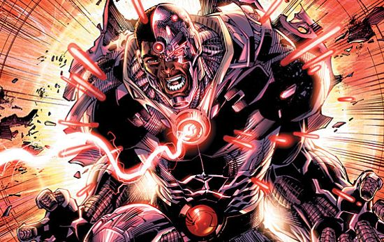 Cyborg Batman Superman 1