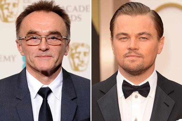 Danny Boyle y Leonardo DiCaprio