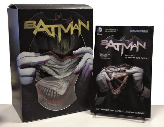 Edición de colección: Death of the Family: The Joker Mask Set
