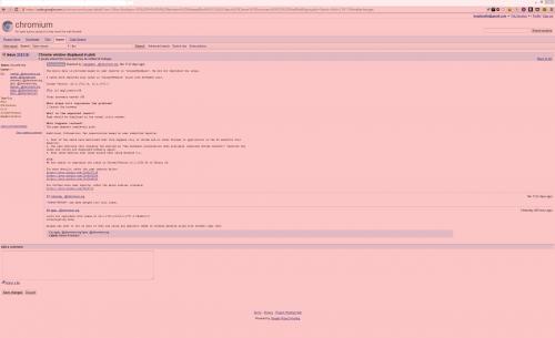 Como quitar el tono rosado a Google Chrome