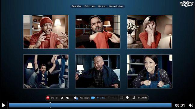 Videollamadas grupales gratuitas en Skype