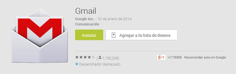 gmail-1000-millones-de-descargas-google-play