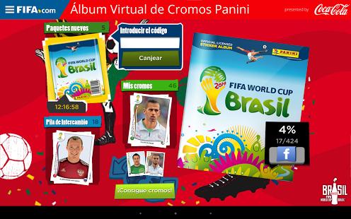 Album virtual de cromos Panini