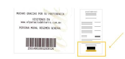Como facturar electrónicamente un Ticket del Palacio de Hierro