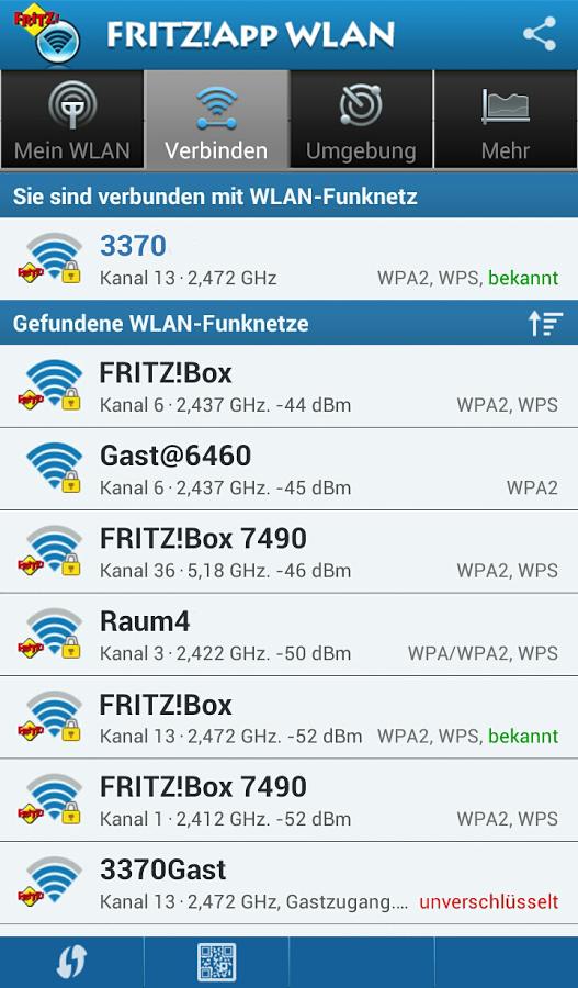 FRITZ!App WLAN