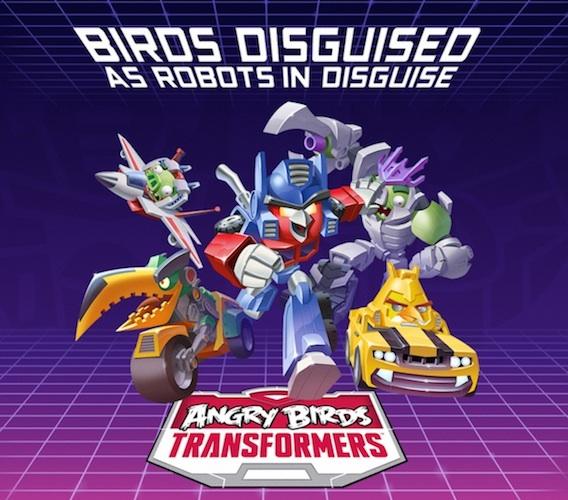 Anuncio de Angry Birds Transformers