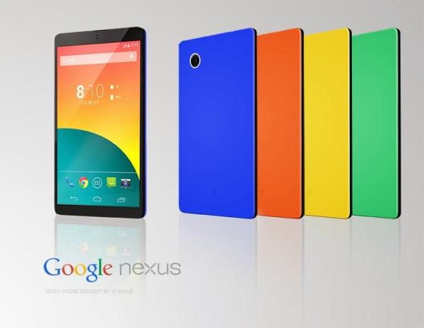 Concepto del Nexus 6 de Google