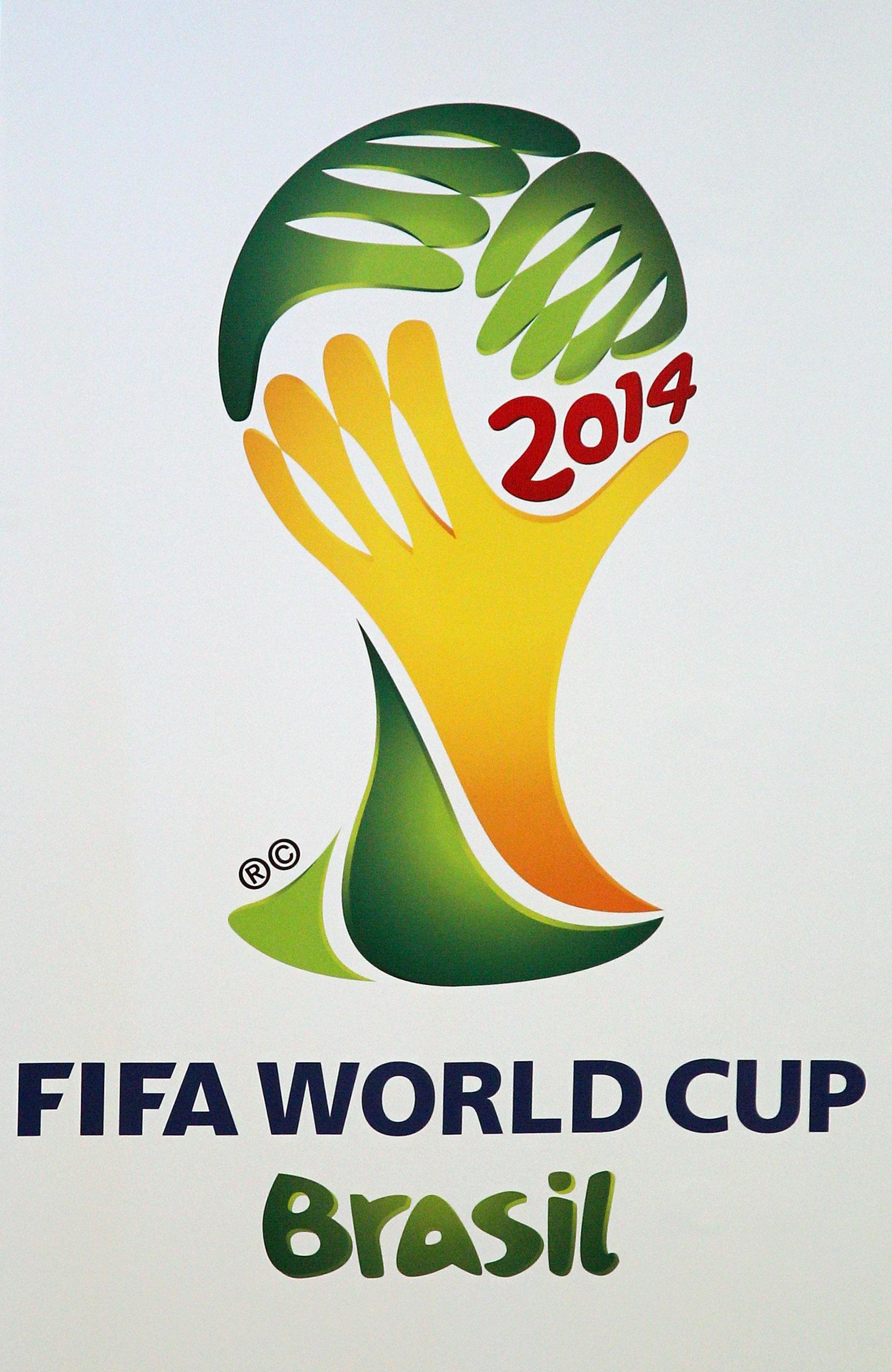 Logo de la Copa Mundial de Futbol Brasil 2014