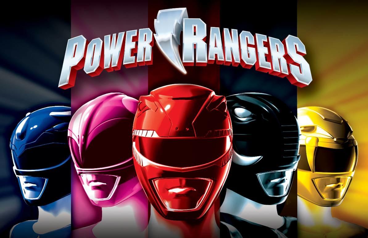 Los Power Rangers preparan su regreso al cine