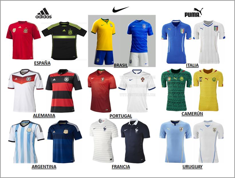 Adidas y Nike lideran el ranking de las marcas que más venden en el Mundial de Futbol
