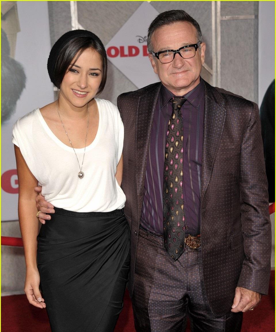 Zelda y Robin Williams