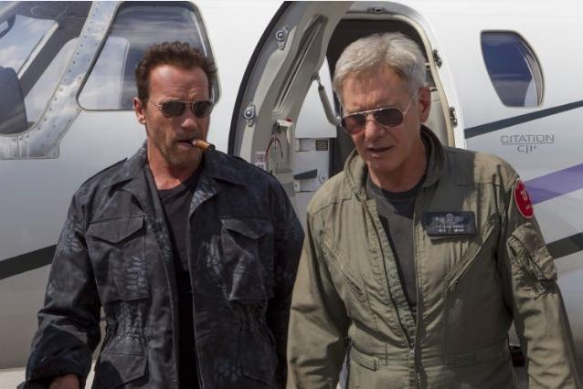 Harrison Ford (Drummer), Arnold Schwarzenegger (Trench)