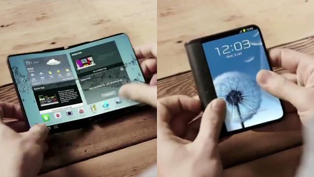 Este concepto sería similar al que está probando Samsung