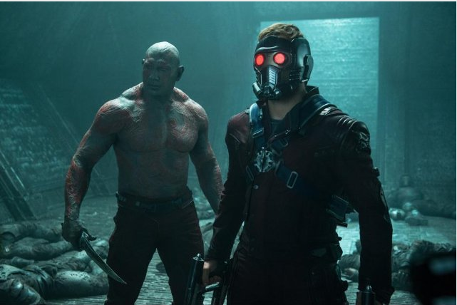Drax y Peter Quill