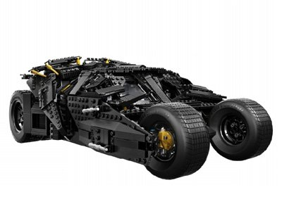 Batimovil creado por LEGO