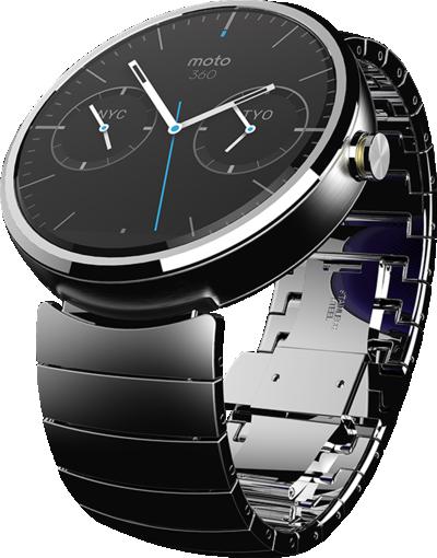 Moto360 el nuevo wearable de Motorola