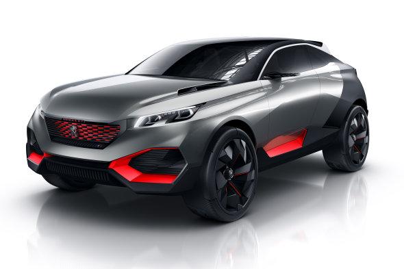 Diseño del Peugeot Quartz