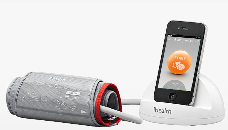 Tensiómetro que se conecta al teléfono y nos ofrece información sobre nuestra presión arterial